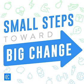 Small Steps Towards Big Change - Chris Keseling